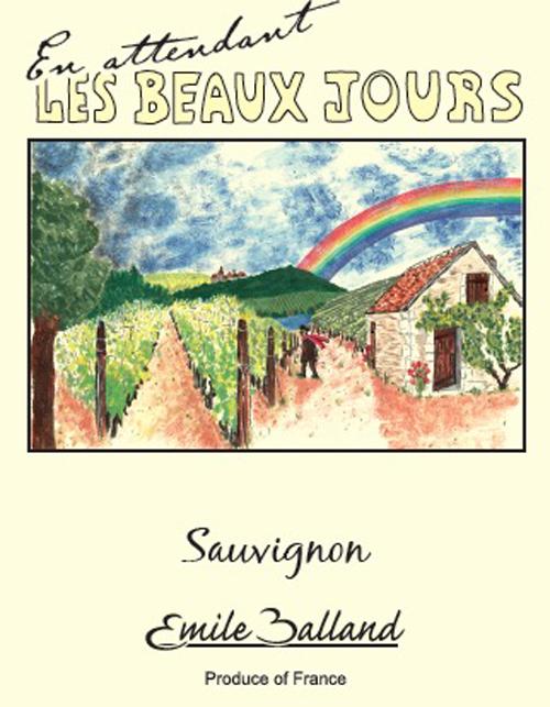 Sauvignon Blanc En Attendant les Beaux Jours   Becky Wasserman   Co. d49073483622